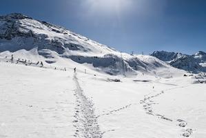Canton Valais piste de ski