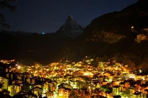 Zermatt nuit